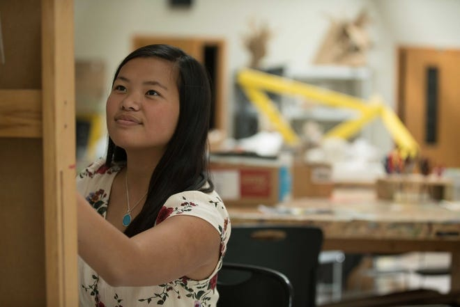 Senior projects at ULS can be inspired by almost anything that students have an interest in, including the arts.