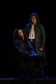 "Tenor Vale Rideout (left) and baritone Keith Phares perform in Florentine Opera's ""Prince of Players"" Oct. 12 and 14 at the Marcus Center, 929 N. Water St."
