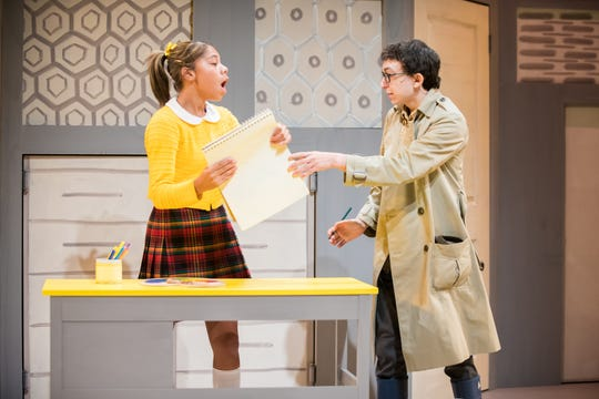 """Makayla Davis and Zach Duckler perform in the First Stage musical """"Nate the Great"""" through Nov. 11 at the Marcus Center."""