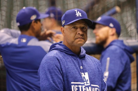 Manager Dave Roberts has the Dodgers in the World Series for the second straight year.