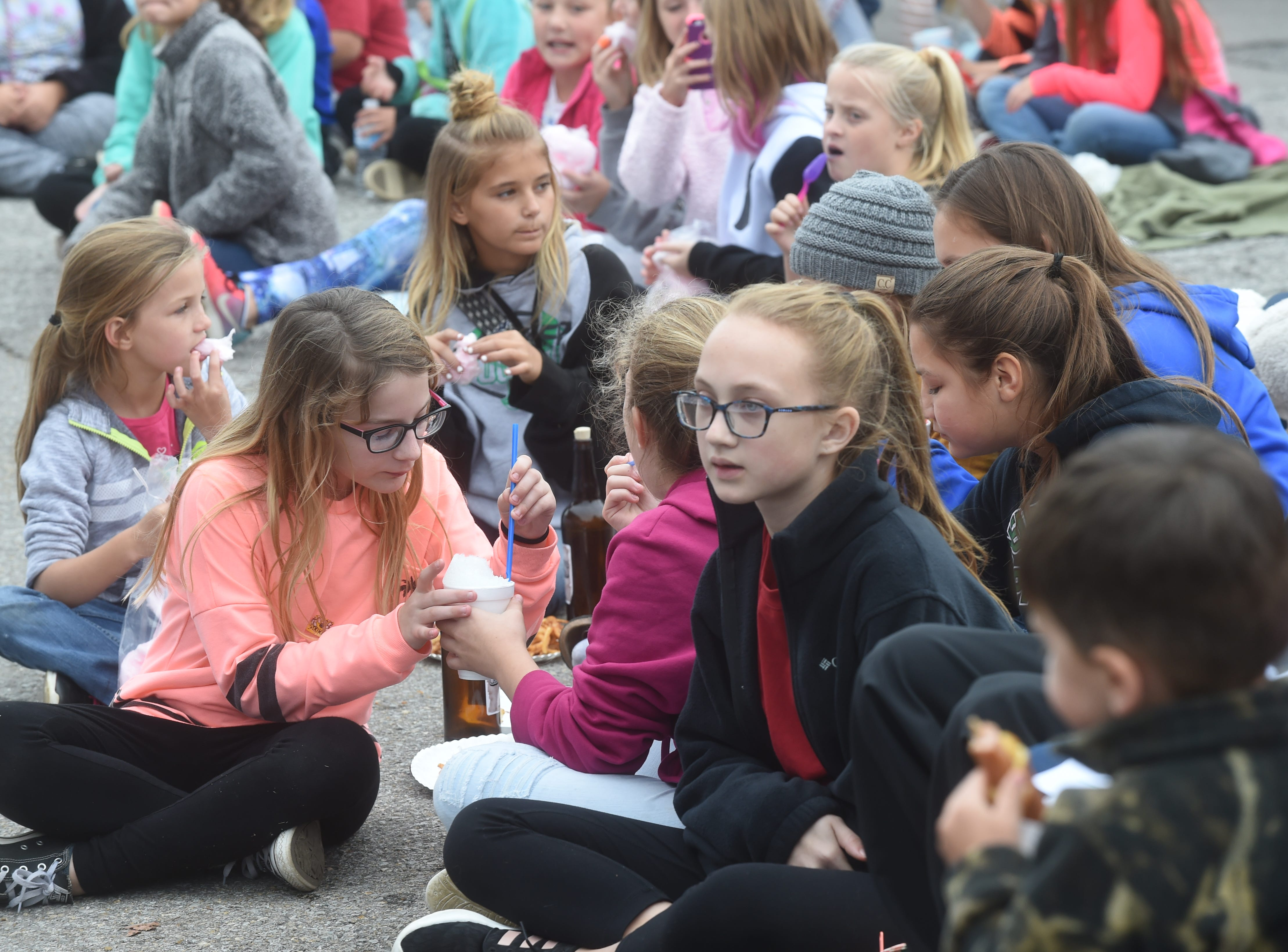 A scene from Friday at the 2018 Turkey Trot Festival.