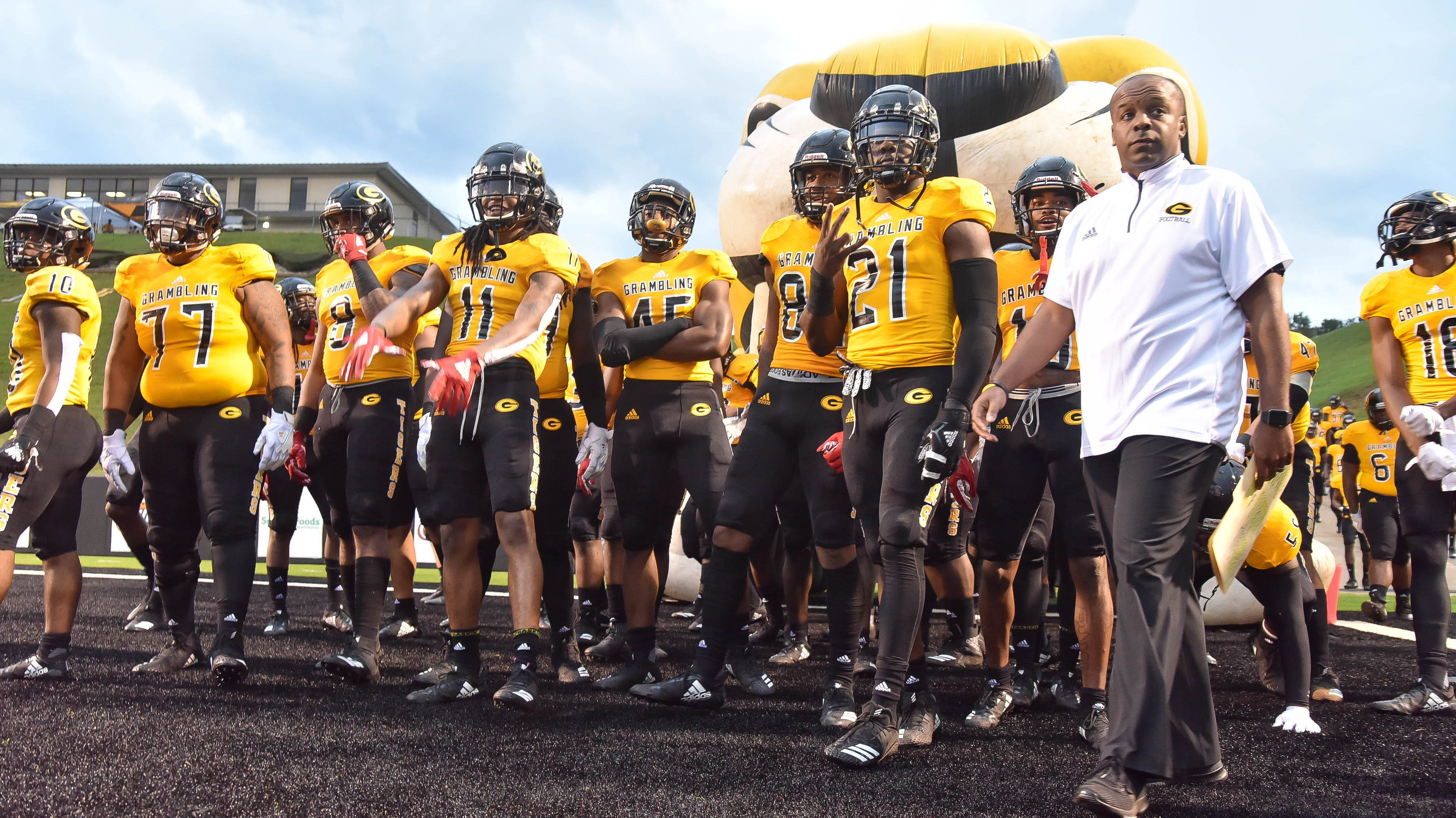 Grambling State travels to take on SWAC West Division opponent Texas Southern Saturday, Oct. 13, 2018.