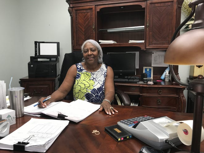 GloriaOwens-Hayden, interim mayor of Tallulah, is the first African-American female mayor for the city. She said it's a dream come true.