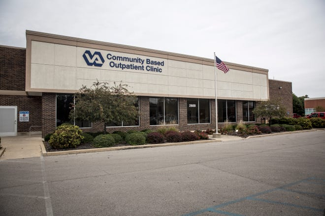 The current VA outpatient clinic at 2600 White River Boulevard  near the intersection for  White River Boulevard and Tillotson Avenue. Plans are in place to build a new clinic at Morrison Road and Hessler Road.