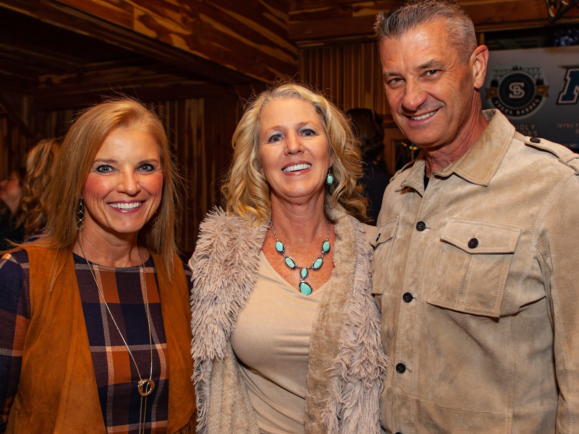 Boots and Brews: Carol Hull, Rhonda and Jeff Holmes