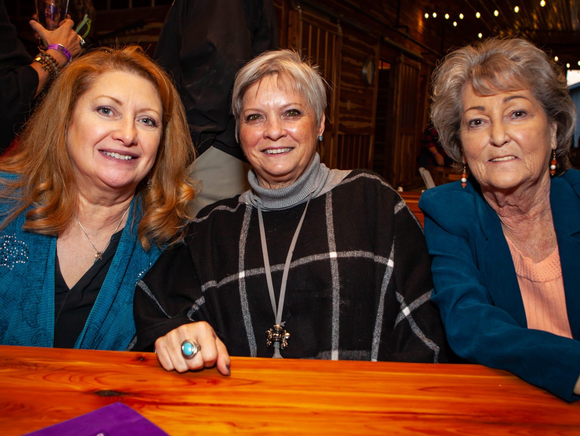 Boots and Brews: Lori Gliko, Wanda Ellithorpe and Mary Lou Claxton