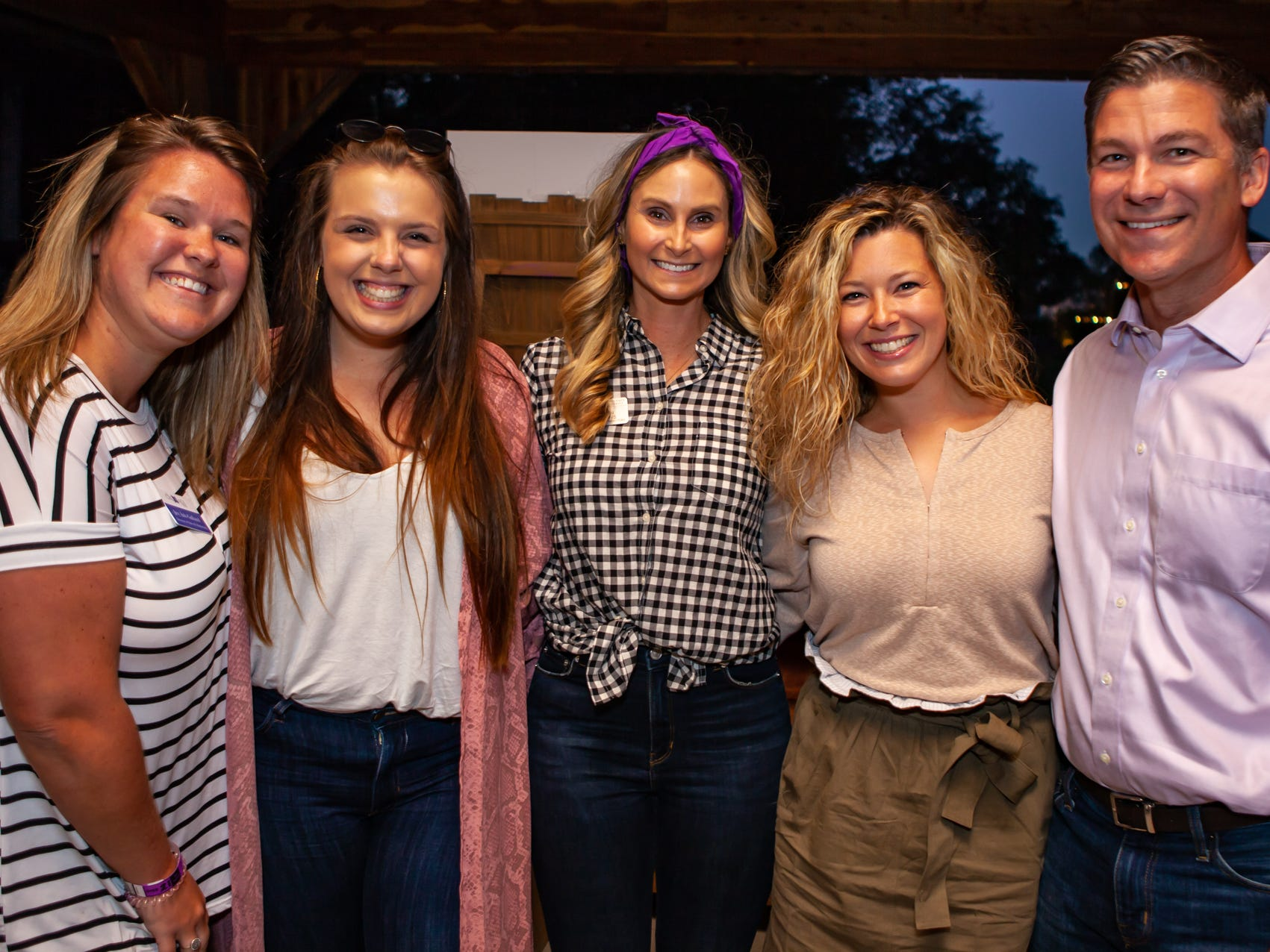 Boots and Brews: Joy Ash-Galland, Bethany Cardence, Erin Rains, and Chelsea and Gabriel Fancher