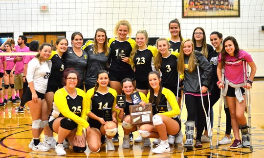 The Fairview High School Volleyball Team finished as district runner-up and advanced to the Regional Tournament for the first time in school history.