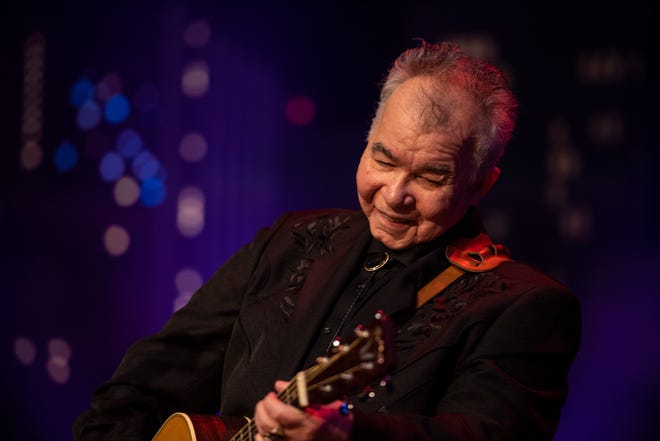 The late John Prine, pictured while performing at Austin City Limits.