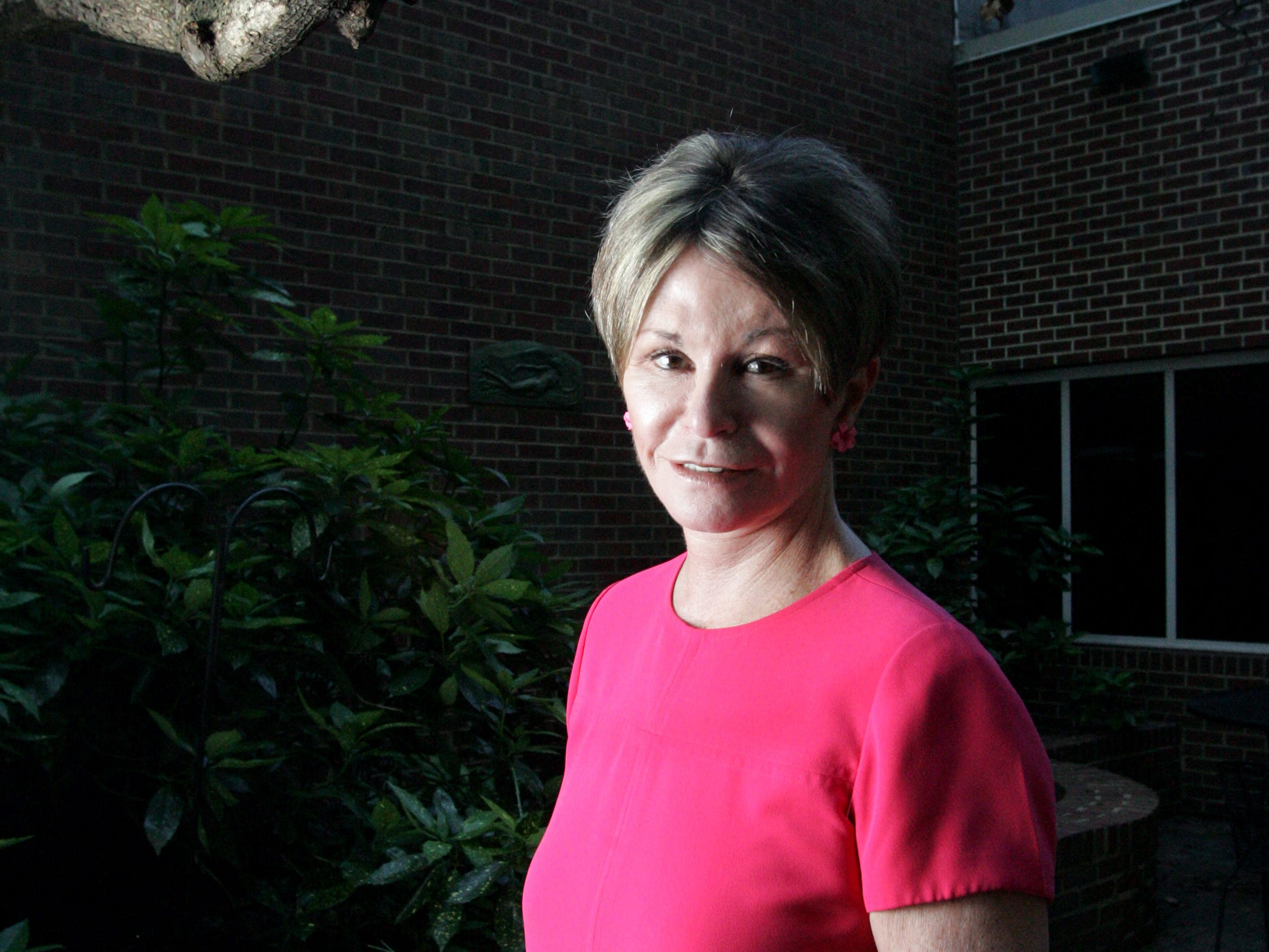 Colleen Conway-Welch Dean of Vanderbilt University School of Nursing has established the Internatinal Nursing Coalition for Mass Causalty Education to train nurses to help in disasters. Courtyard of the school Monday, June 4,  2007 in Nashville, Tenn.