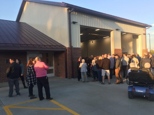 Hundreds attended the opening of Station 405 at 13122 Morse Road the evening of Oct. 11.
