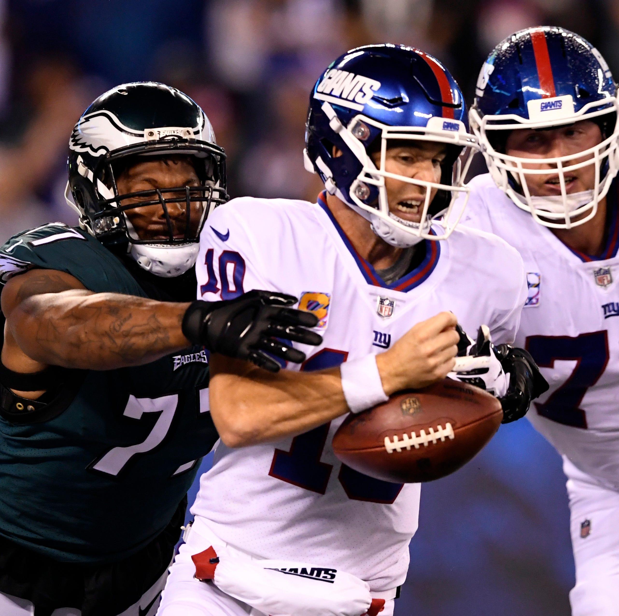 Defending champion Philadelphia Eagles make New York Giants look like chumps