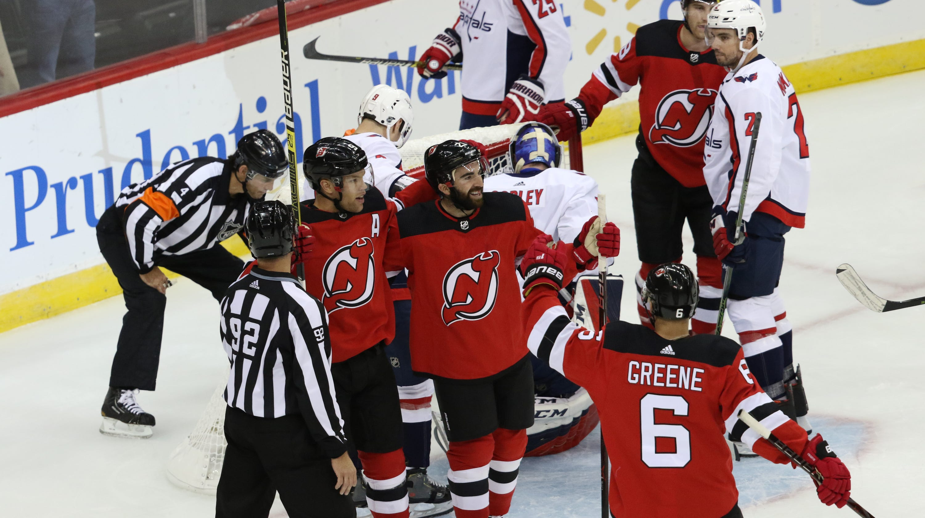 new product 184ff 363d1 Kyle Palmieri sets an NJ Devils record in rout over ...