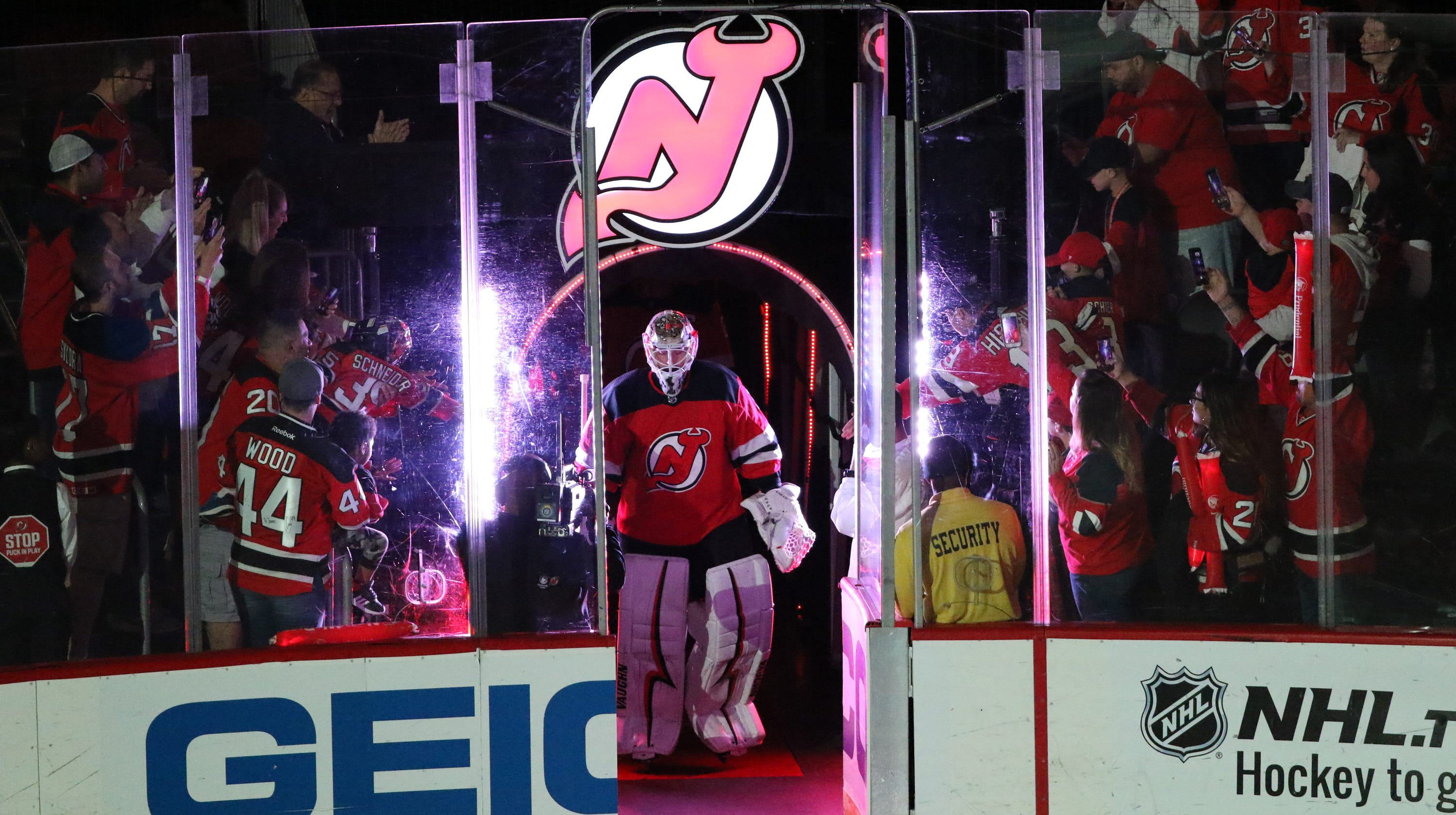 new concept d3286 ea4af What the NJ Devils want to see from Keith Kinkaid