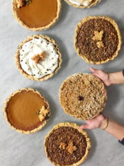 You have quite a selection of pies for Thanksgiving at Erie in Rutherford