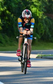 Matan Sopher did his first 40-mile bike ride at the age of 6.