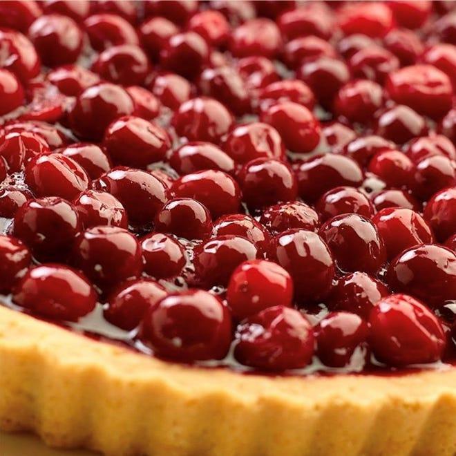 Cranberry pie by Grace Bakery