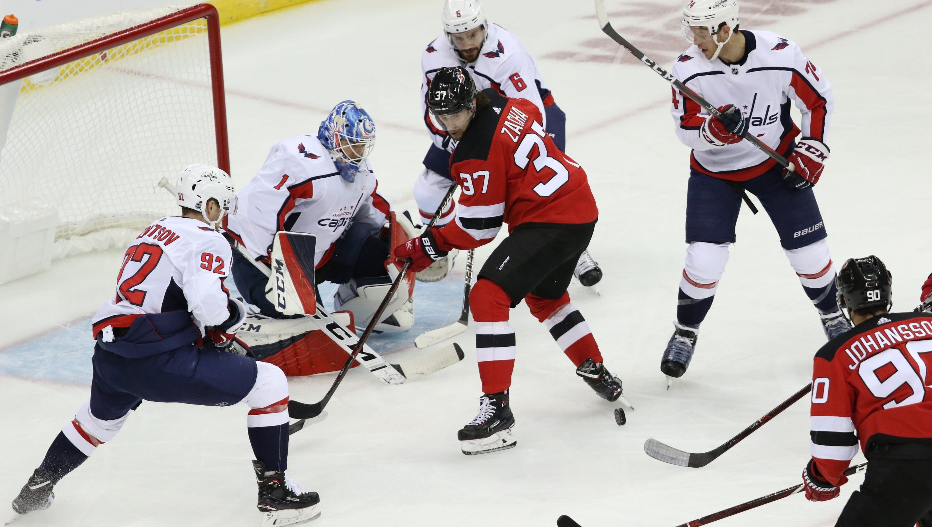 f46d47e05 What NJ Devils' Pavel Zacha showed against Capitals