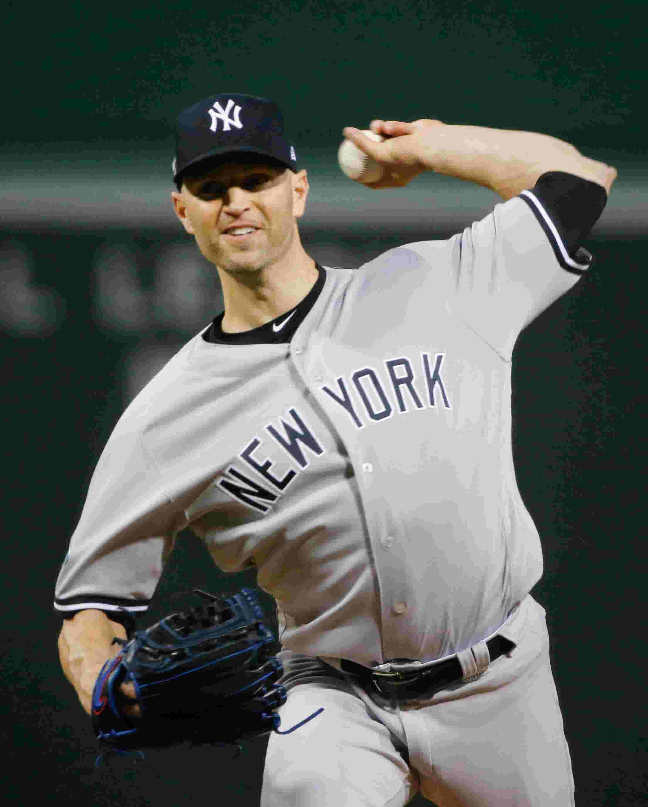 Yankees pitching rotation  What it looks like with J.A. Happ in the picture ec0e4115f90