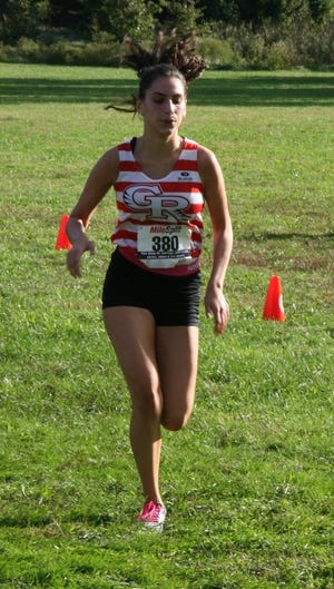 Sofia Costa of Glen Ridge won the SEC Colonial race in 22:47.3.