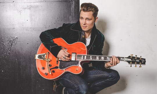 Frankie Ballard performs at 7:45 p.m. on the Main Stage on Friday, Oct. 19.
