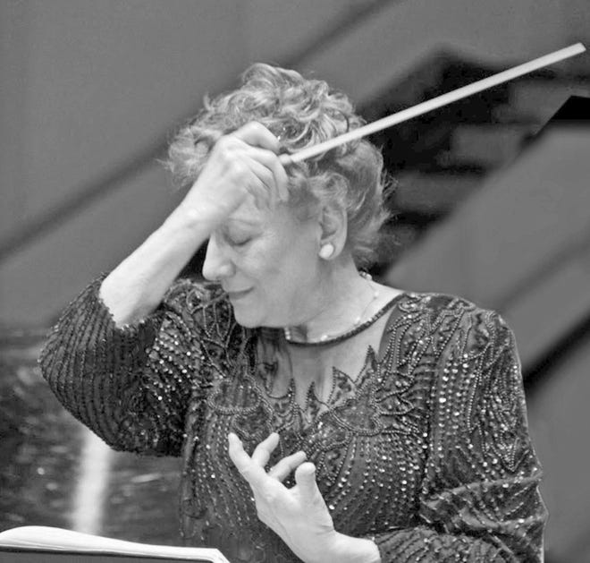 New Horizons Symphony music director and conductor Marianna Gabbi passed away on Sept. 11.