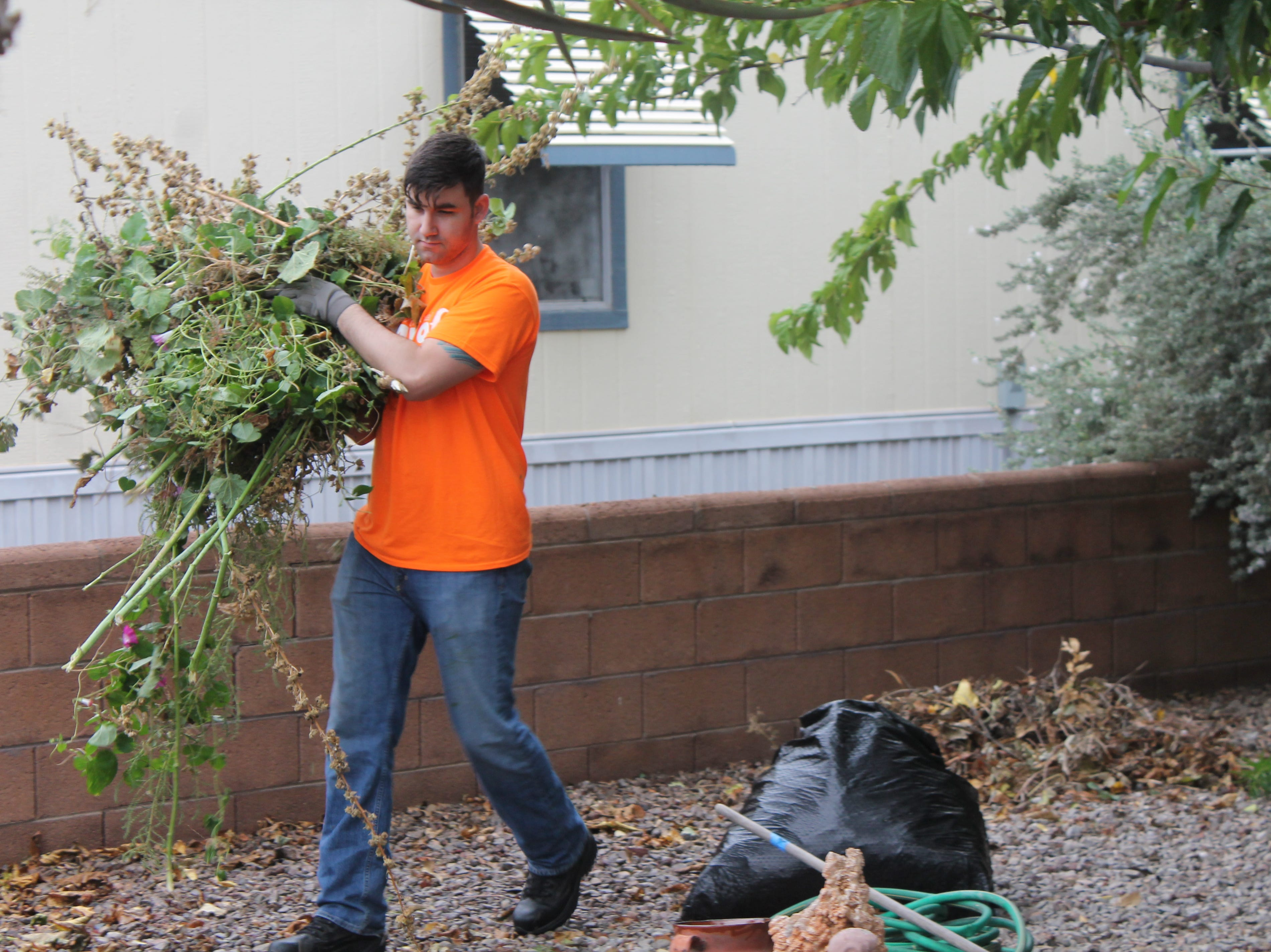 Scenes from the 2018 Thrive Day of Caring