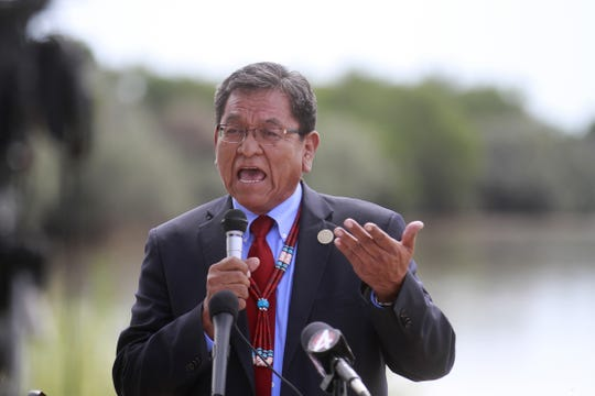 Navajo Nation President Russell Begaye will deliver his state of the nation address to the Navajo Nation Council Monday morning in Window Rock, Arizona.