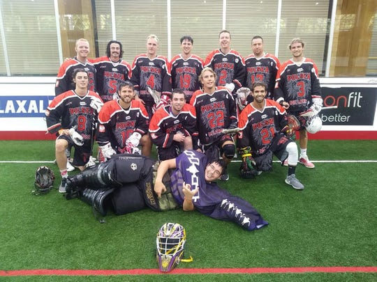 The Polish Developmental Team, including Ian Rush and Brendan Daschke, competed Sept. 27-29 near Syracuse, N.Y., during an international box lacrosse tournament.
