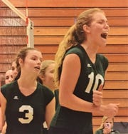 Junior Ellie Ruprich, who likes the excitement of the big kill and dig, wants to play college volleyball.