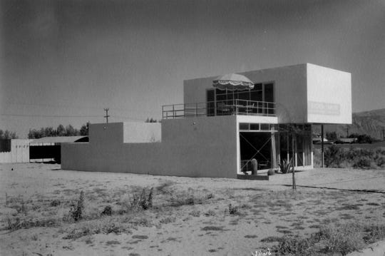 Samson Building, located at 766 N. Palm Canyon Dr. c.1934 The architect was Albert Frey.