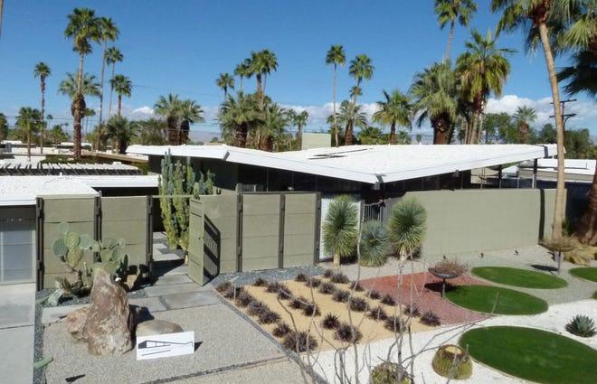 Twin Palms Estates. Architect William Krisel for the Alexander Construction Company c. 1957-1959.