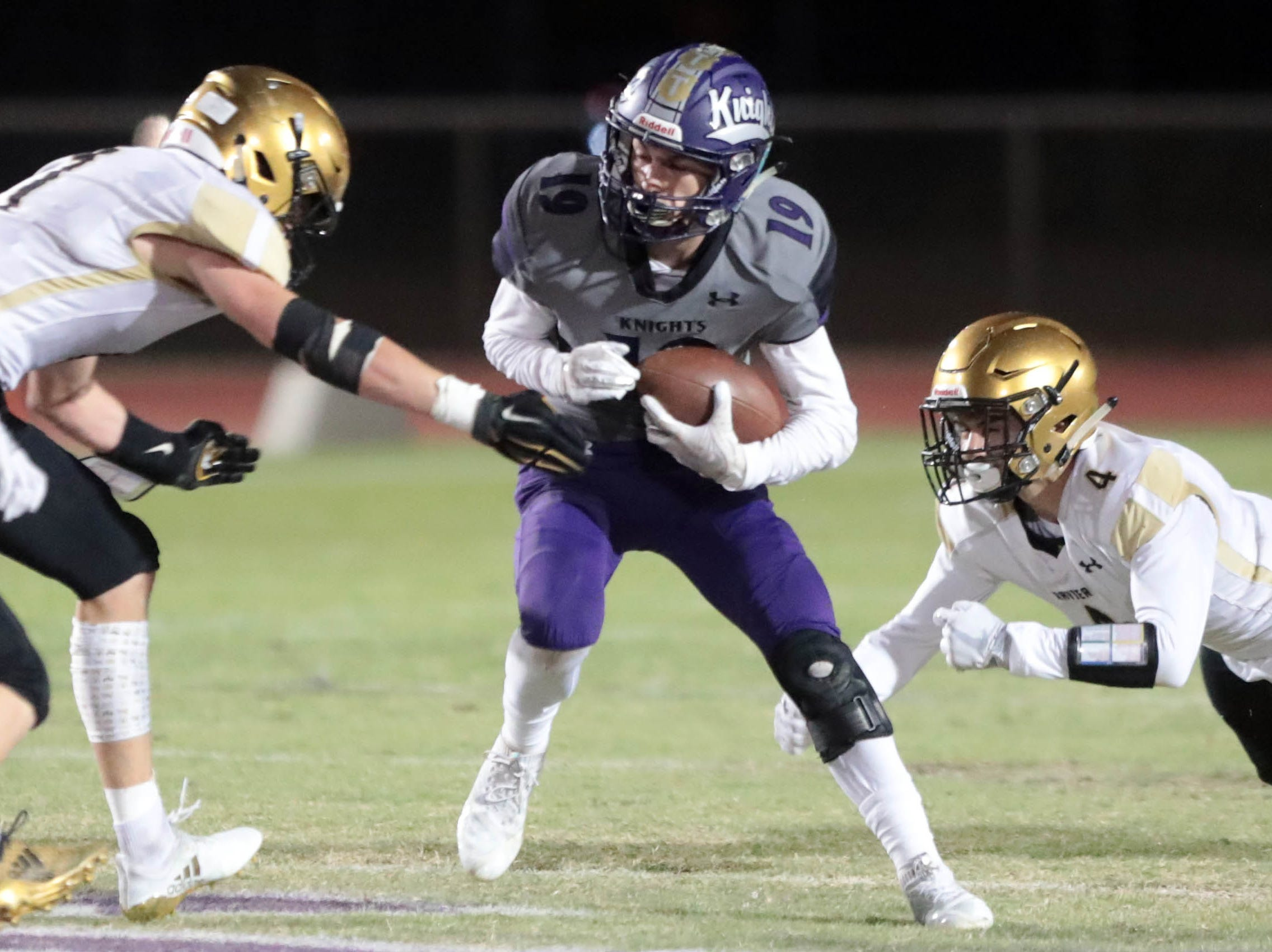 Shadow Hills host Xavier Prep on Thursday, October 11, 2018 in Indio.