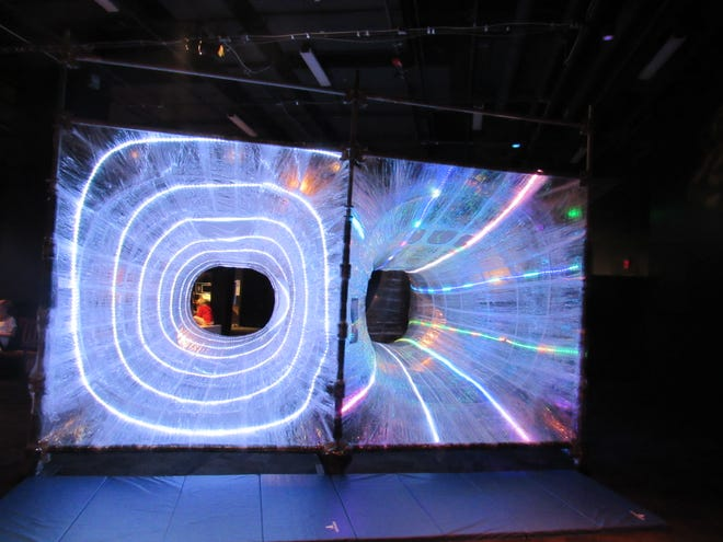 The Arizona Science Center's Cosmic Playground exhibit will be turned into an alternate dimension during the upcoming Science with a Twist event.