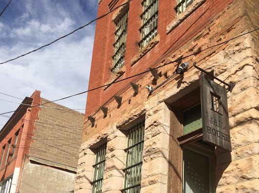The OK Street Jail in Bisbee once catered only to those under arrest. The jail now is a charming inn, perfect for an arresting  getaway.