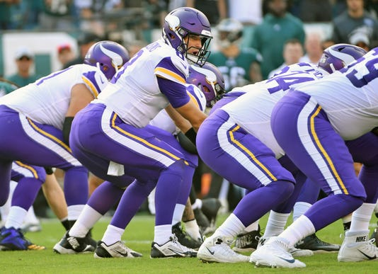 Nfl Minnesota Vikings At Philadelphia Eagles