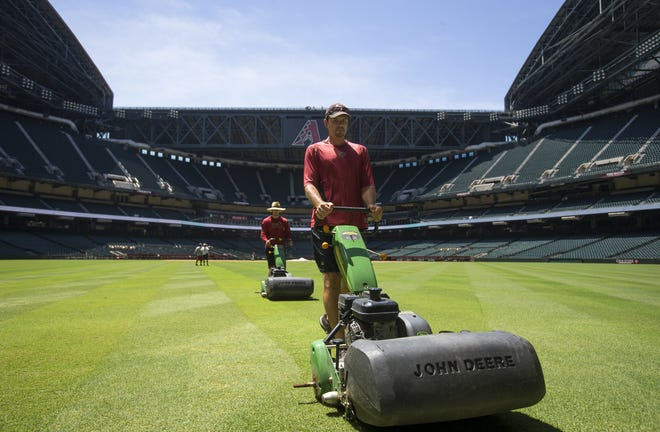 Chase Field is switching to synthetic grass.