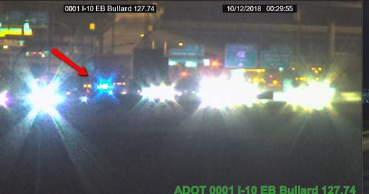 Deadly crash on I-10 at Estrella Parkway in Goodyear