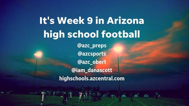 Arizona Week 9 high school football live feed