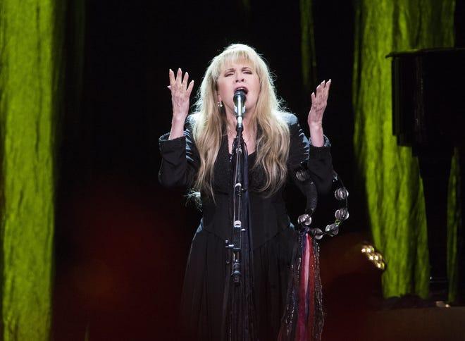 Stevie Nicks performs at Talking Stick Resort Arena in Phoenix on Oct. 25, 2016.