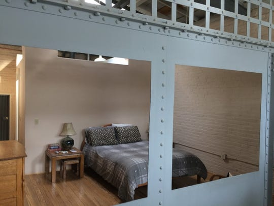 Bars may still be in place, but the OK Street Jail gives off a comfy vibe despite being built for a captive audience.