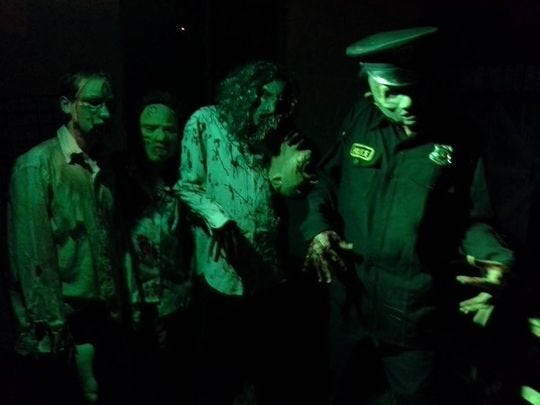 Zombies at Terror Nights