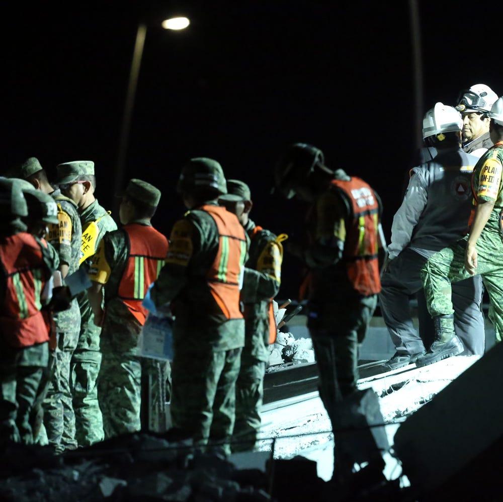 Prosiguen búsqueda de víctimas de derrumbe en Monterey, Nuevo León