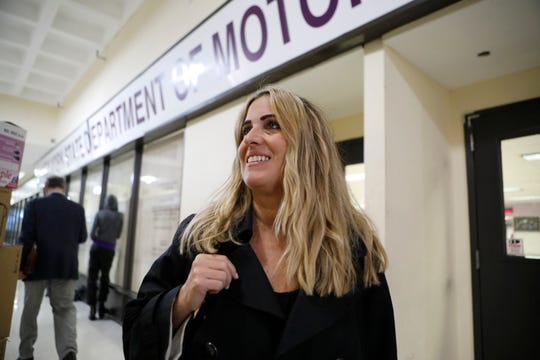 Mary Ellen Parisi of Scarsdale waited over 4 hours before concluding her business at the  White Plains Department of Motor Vehicles on Oct. 12, 2018.