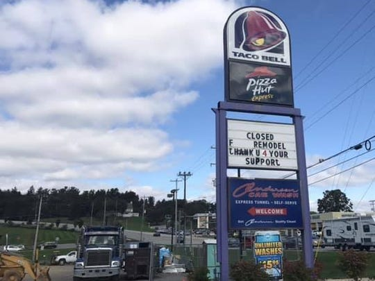 Taco Bell, located on S. Queen St. in York Township, is going to be unveiling its new look in January.