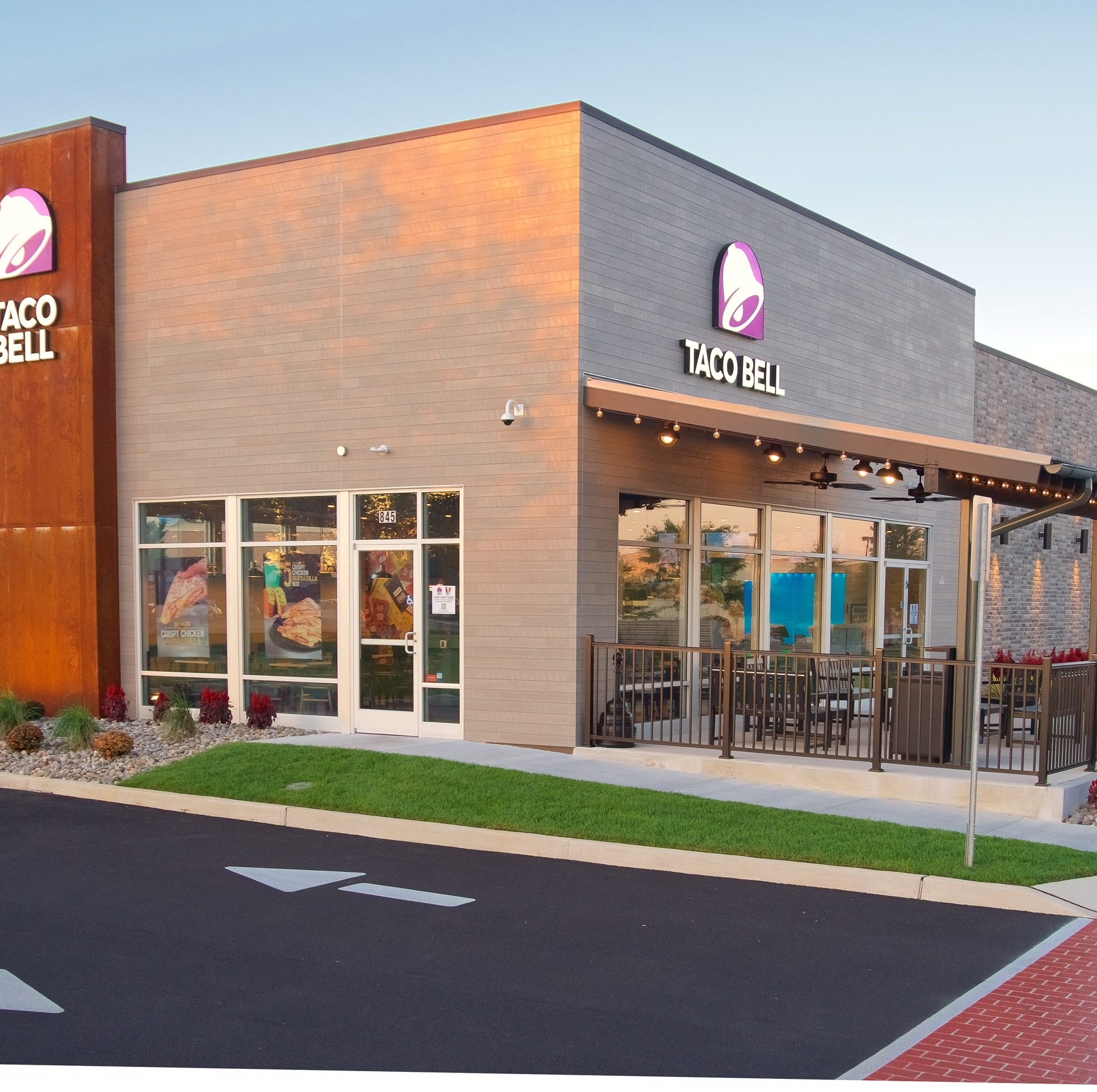 Taco Bell, on S. Queen St., will reopen with this new look, according to Summerwood Corporation.