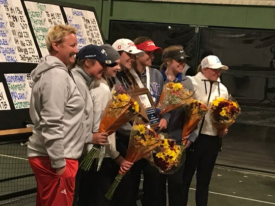 Reno High won its third straight Northern 4A Region golf title on Thursday at ArrowCreek.