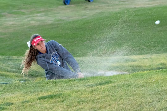 Reno senior Charlotte Mason was tied for third in the girls golf Northern 4A Regional on Thursday at ArrowCreek.