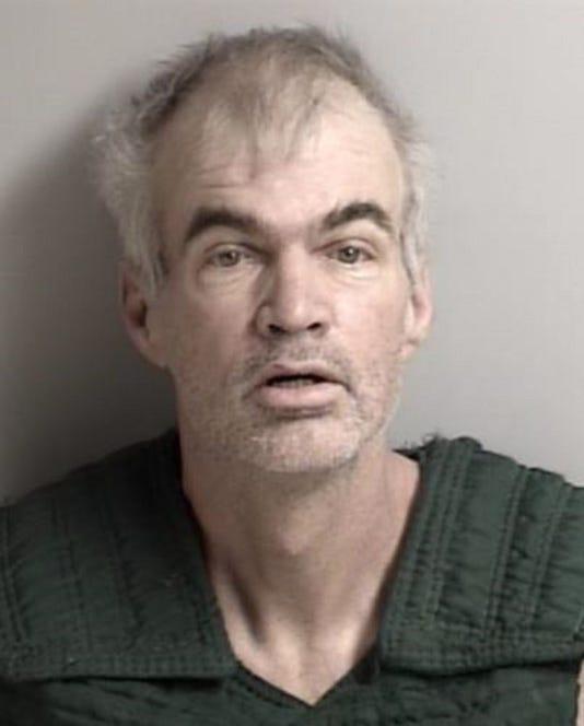 Mug Shot Paul Hollingsworth