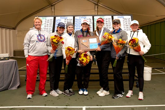 Reno won the team title in the girls golf Northern 4A Regional on Thursday at ArrowCreek.